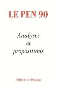 Le Pen 90: Analyses et propositions