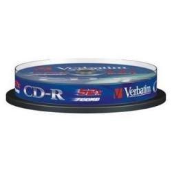 Verbatim CD-R 80min ExtraProtection Surface 52x 700MB CD-Rohlinge 10er Spindel