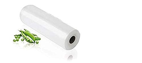 VACUUM PACKERS Food Grade Food Vacuum Sealer Roll, 17 cm X 10 m , White