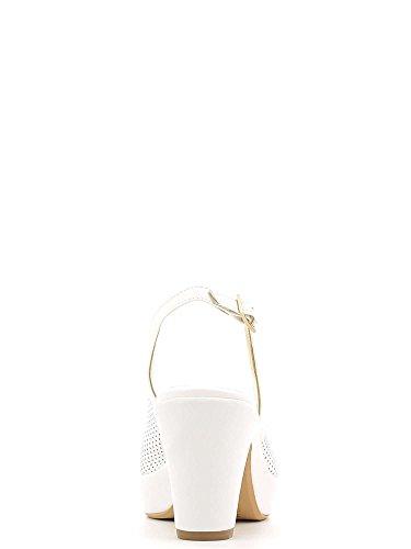 GRACE SHOES E6593 Sandalo Tacco Donna Nero