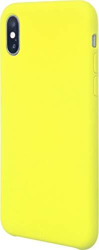 JT Berlin Liquid SilikonCase Schutzhülle Steglitz für das Apple iPhone Xs Max - gelb [