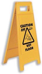 Stewart Superior-Réf Wet Floor Jaune WFS001 Panneau