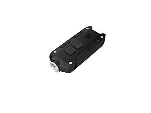 Nitecore Tip 2017 schwarz - Schlüsselbundleuchte, 360 Lumen, über USB ladbar