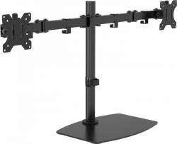 Vision VFM-DSDB Multimedia Stand Black Flat Panel Multimediaständer (Multimedia Stand, Black, Steel, Flat Panel, 16 kg, 33 cm (13 Zoll)) -