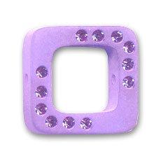 Quadro strass Polaris mm. 20 Violet x1