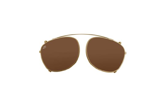 19beaf24d98 Serengeti Enzo Eyewear Sunglasses gold Clip Only Shiny Light Gold Size L