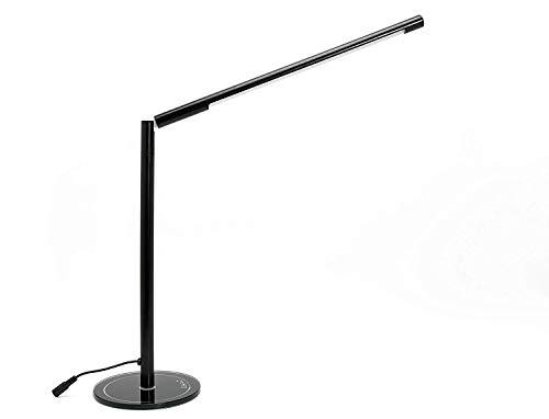 LIHAO Lampe de Bureau, 5W Lampe de Table LED à Intensité Réglable 48 SMDs Blanc Chaud