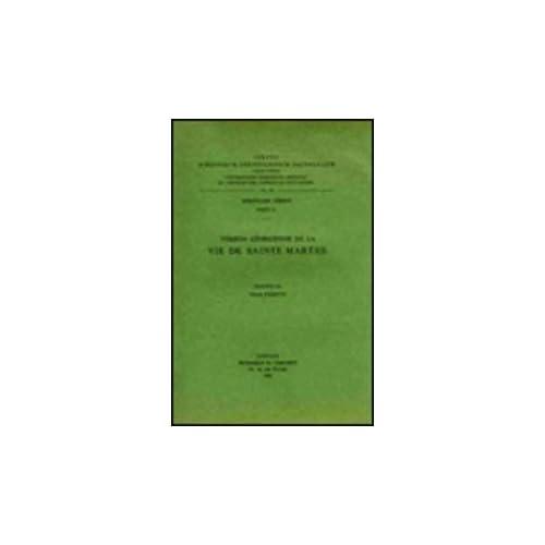 Version Georgienne De La Vie De Sainte Marthe. Iber. 18.