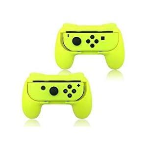 Griff für Nintendo Schalter Joy Con Green Pink