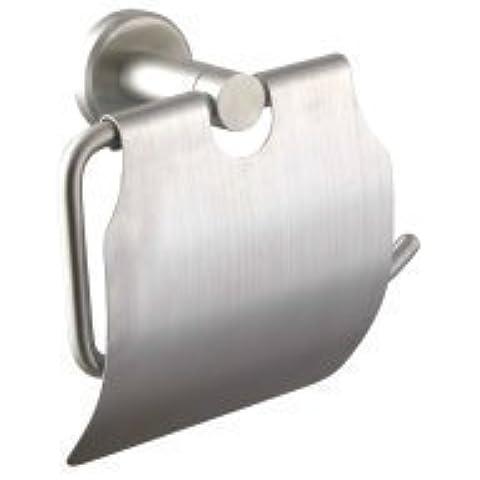 YUPD@Accessori bagno spazzolato acciaio inox parete montato toilet paper holder