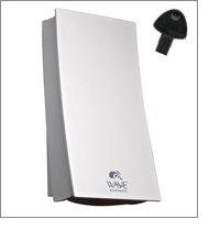 34150 WAVE Dispensador de jabón blanco