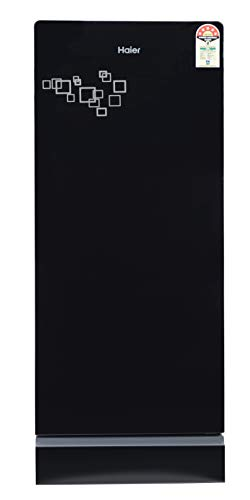 Haier 195 L 5 Star Direct Cool Single Door Refrigerator (HRD-1955PMG-E, Mirror Glass)