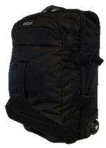 American Tourister - Road quest bolsa de viaje con ruedas, 40 Litros, negro sólido (black), S (55cm-40L)