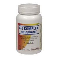 A-Z KOMPLEX-ratiopharm, 100 St. Tabletten