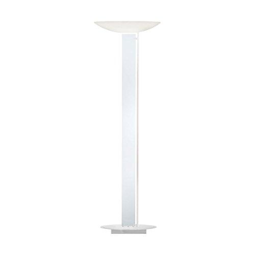 kolarz Premium LED Lampadaire (en blanc, clair, 4 ampoules, Bol, 7696lm Lumen, 4700 KK, réglage Capteur tactile) Touch Lampe Ampoule Capteur LED Lampe Éclairage d'intérieur