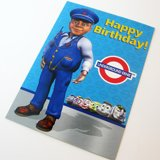 Underground Ernie Birthday Card