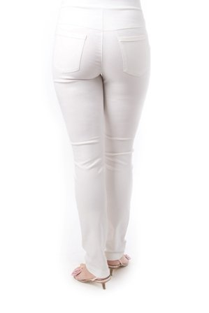 Christoff Umstandshose Sommer-Hose - slim fit - 530/46 weiß (white)