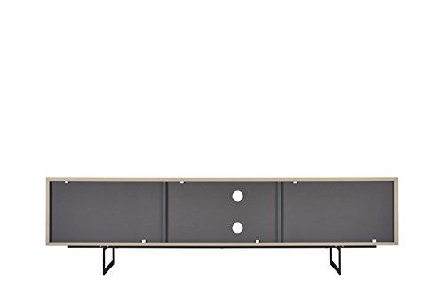 TV-Schrank TITRAN modernes TV-Lowboard in Taupe Beige hochglanz & anthrazit grau matt, mal kein weiß oder schwarz, 180 x 42 x 50 , Fernsehschrank inkl Lieferung und Montage! - 6