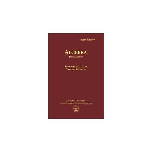 Algebra (3Rd Edn)