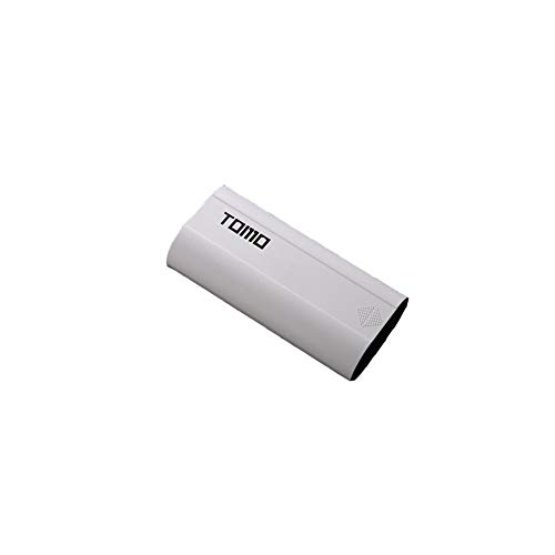 nellladungs-Energie-Bank DIY intelligente Energie-Bank TOMO M2 DIY intelligente Energie-Bank-Kasten-Kasten 18650 Batterie-LCD-Anzeige USB-Ladegerät Doppelschwarzes Weiß ()