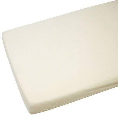 Coprimaterasso compatibile con chicco Next 2Me 100% cotone-Crema