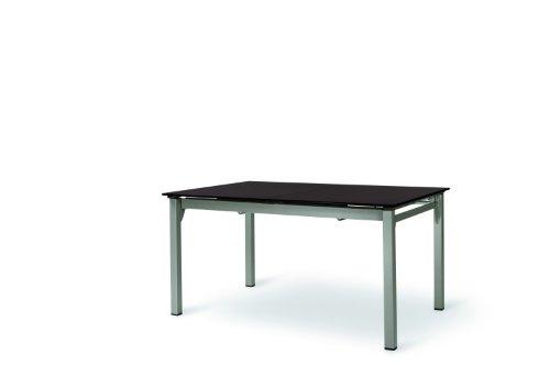 MWH-Garden & Home Loft-Tisch mocca/champagner 145/243x95, ausziehbar