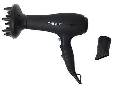Nevir NVR-2202 S-ION - Secador para cabello, 2200 W, iónico, 3 temperaturas