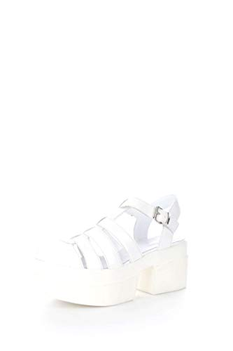 Cult CLE102541 Ragnetto Donna Pelle Abrasivata Bianco Bianco 37
