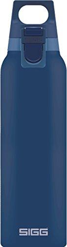 Sigg Thermo-Flasche Hot & Cold One Midnight, Vakuum-Isolierte aus Edelstahl, BPA Frei, Midnight, M, 8674.00