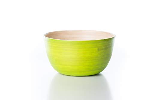 Bea mely ciotola in bambù – ciotola in legno – insalatiera – dip – müsli – zuppa – verde