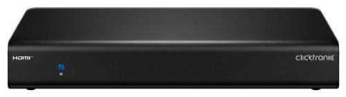 Clicktronic Advanced Quad HD HDMI Splitter (1 IN/4 OUT, 4K Ultra HD, 3D-TV)