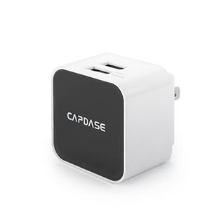 Capdase AD00-CK02-EU Dual USB Power Adapter white - 100% Original sealed product
