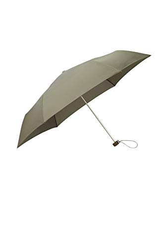 SAMSONITE Rain Pro 3 Section Manual Flat Ombrello Pieghevole 24 centimeters Verde