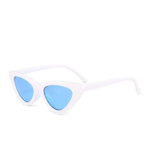 WERERT Sportbrille Sonnenbrillen Fashion Cute Sexy Ladies Sunglasses Women Vintage Small Sun Glasses Female Uv400