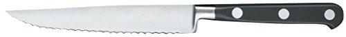 Cuisineonly - Couteau à steak lame crantée inox - 11 cm, 11 cm. cuisine : découpe (couteaux inox)