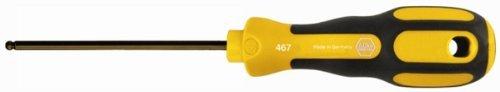 Wiha 46712 1/8 x 100mm 3K Ergonomic Ball End Hex Driver by Wiha Tools - Ball-driver-hex-tool