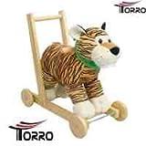 Torro 277 - Kleinkind Lauflerngerät - Tiger - Lauflernhilfe mit Musik