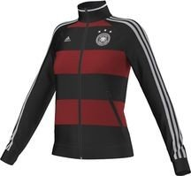 adidas Damen Jacke DFB Fanshop Deutschland TRK Top, Schwarz, S, D84073