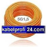 PUR Baustellenkabel H07BQ-F 5x1,5mm² -25m Ring- H07BQF