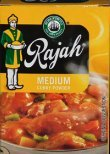 Rajah Curry Powder Medium 100g Box from Uniliver
