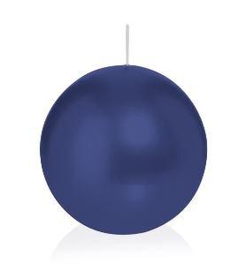 Bougie ronde 12 Ø 70 mm bleu foncé, Brûler temps en heures 16, Bougies pour l'événement, partie, occasion, baptême, mariage, Avent, Noël, décoration