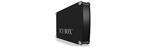 Preisvergleich Produktbild 'ICY BOX IB-351ASTU-B–Netzwerk Festplatte (SATA, Serial ATA II, 8,89cm (3.5), Schwarz, Festplatte, Power, Aluminium, 0,48Gbit/s)