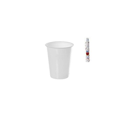 DOPLA Bicchieri 80Cc, 100 pezzi