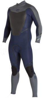 Billabong Foil 3X2 BZ LS FL FU Combinaison de surf en néoprène pour homme gris