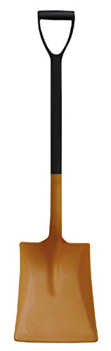 CEMO Allzweckschaufel mit D-Griff PP03 Schaufel Orange-schwarz 98 cm