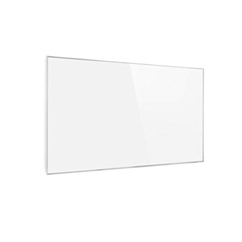Klarstein Wonderwall 45 • Riscaldatore a Infrarossi • Pannello Riscaldante • 50 x 90 cm • 360 W • Cristalli di Carbonio • Antiallergico • IP24 • Bianco