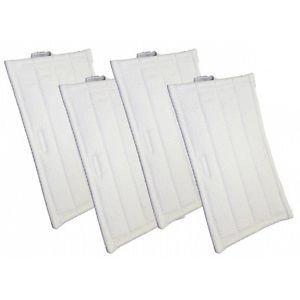 Confezione 4 panni originali parquet per pulilava folletto