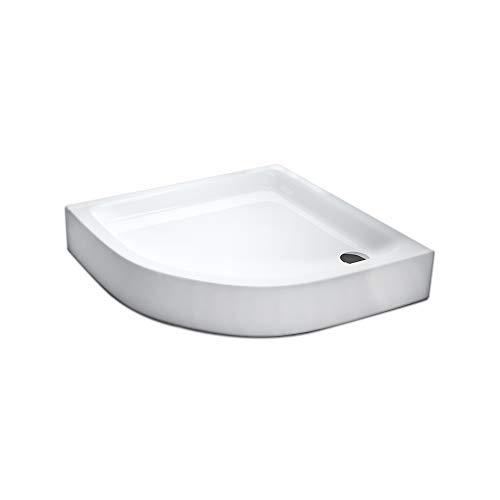 duschwannen kaldewei AQUABAD® Duschwanne Comfort Forta Plus 90x90cm Viertelkreis R55