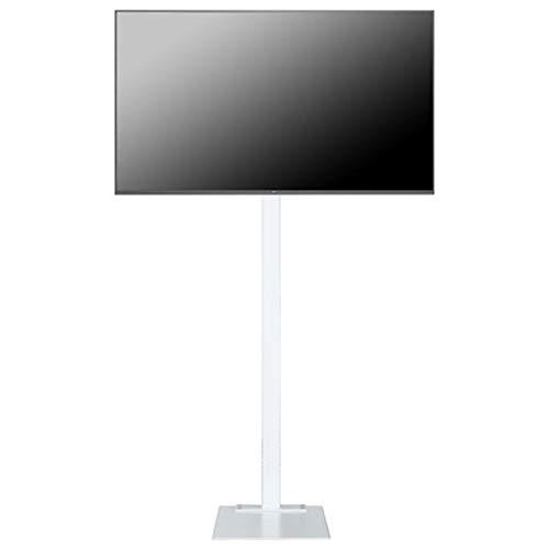 Gpf Mobiler TV-Ständer mit drehbarem Bodenständer, horizontal verstellbarem Aufhängerahmen und universellem lochfreiem LCD-Racklift von 23 bis 70 Zoll