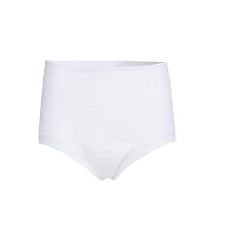 Sangora Damen-Slip - Inkontinenzwäsche mit Auslaufschutz und Sicherheitszone, weiss, L - Damen -